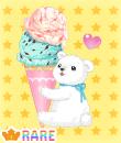 でっかいアイス〜!