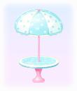 アイスなテーブル