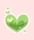 ピュアハート(緑)