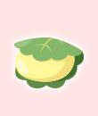 かしわ餅(黄)