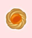 クッキー(橙)