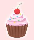ベリーカップケーキ